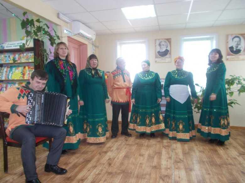 В селе Пологое Займище прошли рождественские посиделки