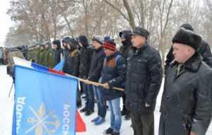 Курсанты ДОСААФ приняли участие в траурном митинге