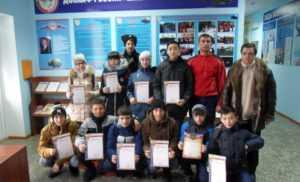 В тире автошколы ДОСААФ прошли соревнования среди казачьей молодежи