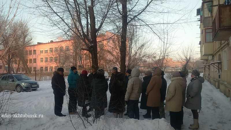 Встреча с жителями д. 2 по ул. Щербакова по благоустройству дворовой территории