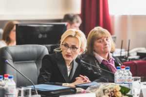 Ирина Яровая: «Вопрос об усилении роли ДОСААФ требует вынесения на заседание Госсовета»