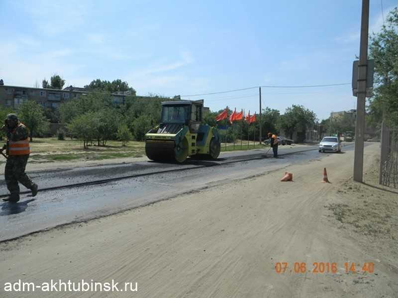 Ремонт автомобильной дороги по ул. Черно-Иванова и ул. Тимирязева.