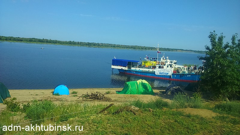 Ахтубинск посетили участники экспедиции «Флотилия плавучих университетов»