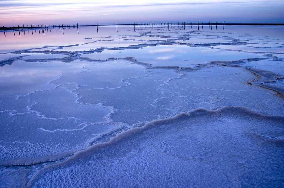 Астраханское озеро Баскунчак представлено на выставке «Чудеса России» в Москве