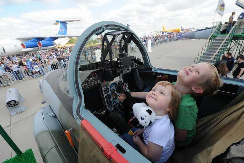 В Жуковском стартует авиационный салон «МАКС-2017»