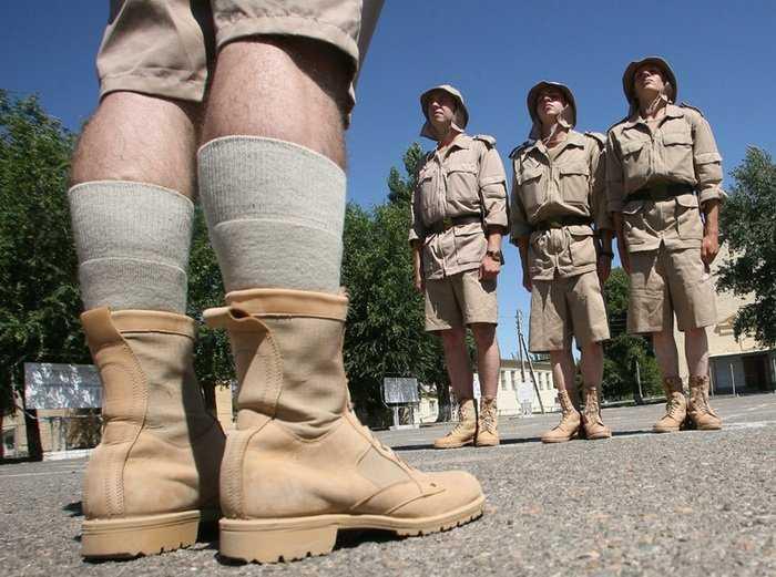 Летняя форма для южных регионов, на радость астраханских военных, появилась в российской армии.