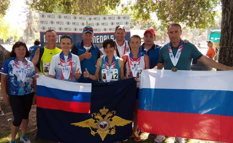 На Всемирных играх полицейских и пожарных женская команда, в составе которой ахтубинка, выиграла полумарафон