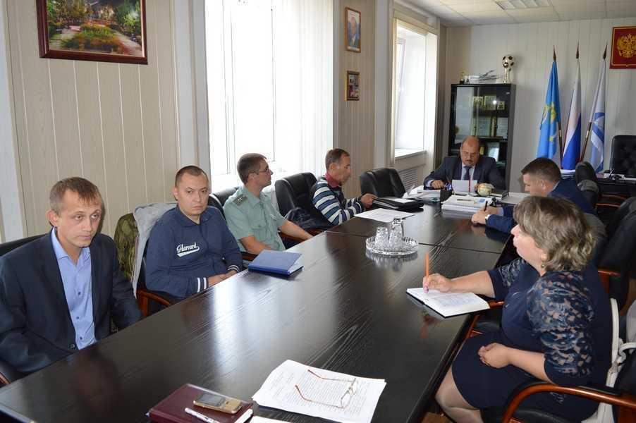 Члены комиссии рассмотрели состояние наркоситуации в Ахтубинском районе