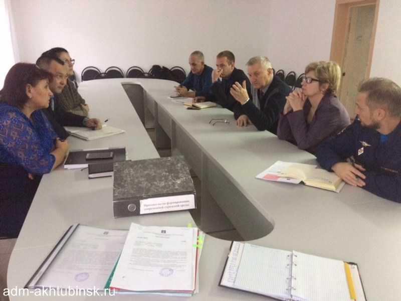 Общественная комиссия по развитию городской среды на территории муниципального образования «Город Ахтубинск» утвердила муниципальные программы по благоустройству парков, скверов и дворовых территорий