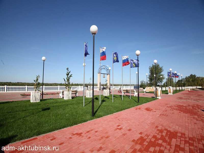 Новая набережная и парк в Ахтубинске стали победителями среди реализованных проектов по благоустройству территорий Астраханской области