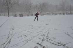Не нашего поля ягода: в Ахтубинске спорт ушел на зимовку