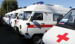 Новые автомобили скорой помощи поступили в Астраханскую область