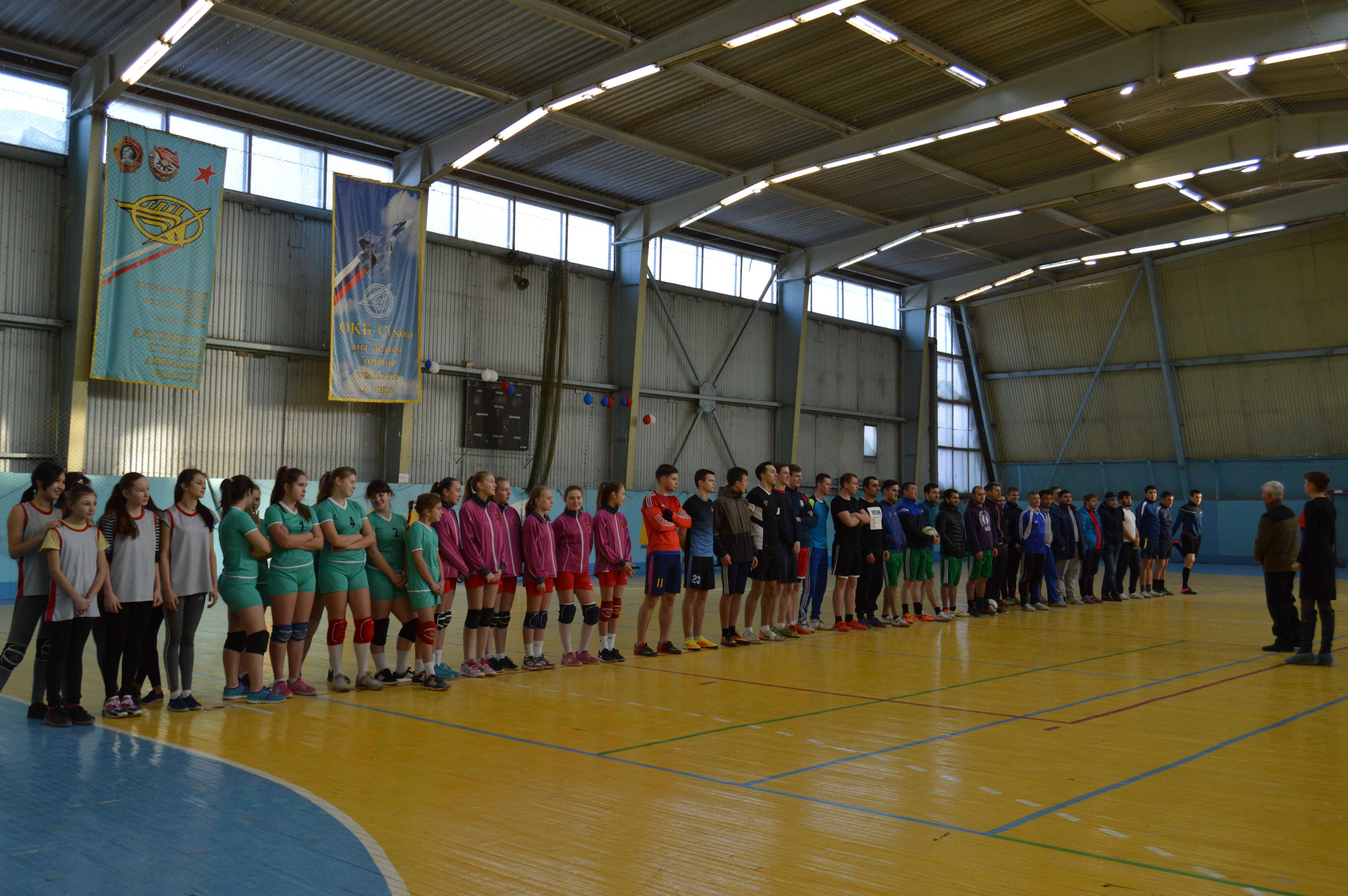 В Ахтубинске прошёл рождественский турнир по мини-футболу