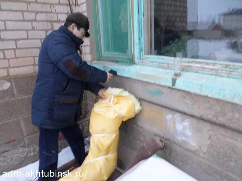 Проверка теплового режима в детском саду СОШ № 2