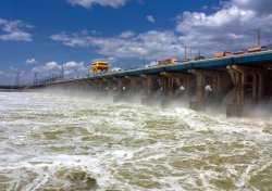 В Астрахань идет «большая вода». В верховьях Волги начался зимний паводок