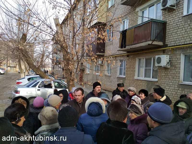 Встреча с жителями 5 многоквартирных домов