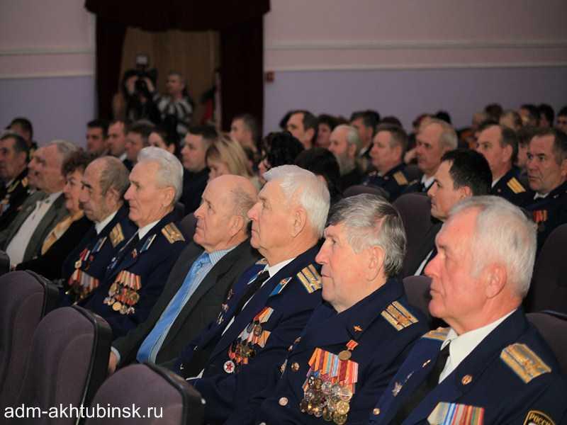 В Ахтубинске состоялось торжественное собрание посвященное Дню защитника Отечества и большой праздничный концерт