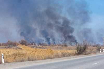 В Астраханской области начался пожароопасный сезон