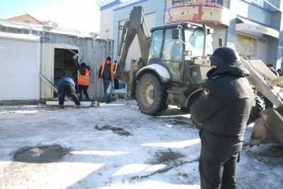 Борьба с незаконными постройками в Астрахани набирает обороты