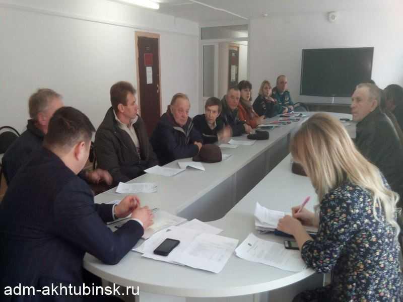 Совещание по вопросу паромной переправы на о.Петриков