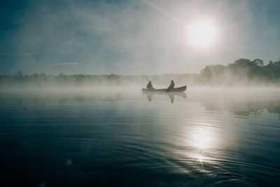 В выходные погода хорошая, а рыбалка будет не очень