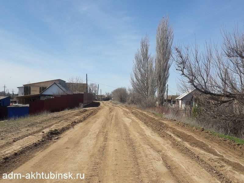 Грейдирование грунтовых дорог в заречной части города