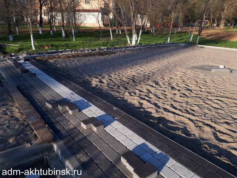 Устройство площадки под памятник «Булат Окуджава».