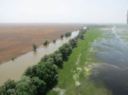 В Астраханской области паводок ждут такой же, как в 2016 году