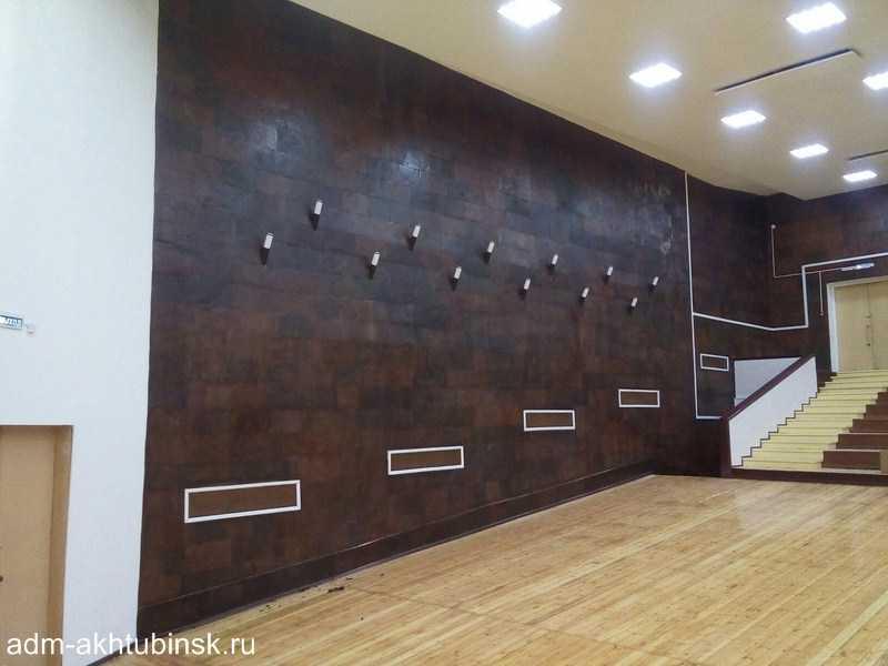 Ремонт зрительного зала ГДК Речников продолжается
