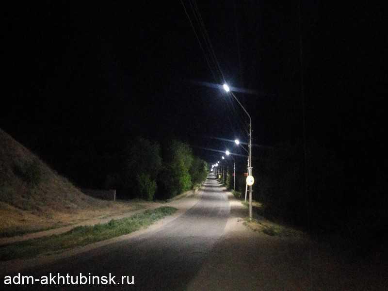 Замена фонарей уличного освещения