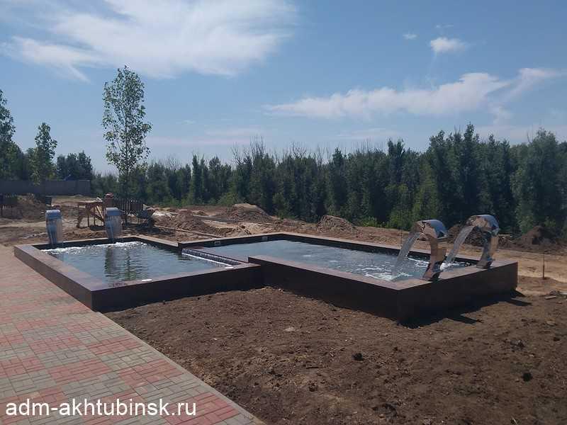 Благоустройство нового сквера возле мемориального комплекса «Крыло Икара»