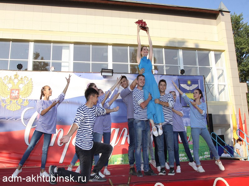В Ахтубинске отпраздновали День работников морского и речного флота