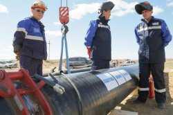 «Газпром» завершил строительство газопровода для северных районов Астраханской области