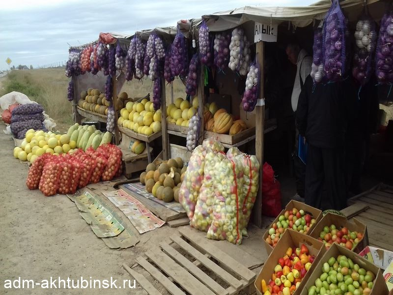 В Ахтубинске проведен рейд по выявлению несанкционированных торговых мест