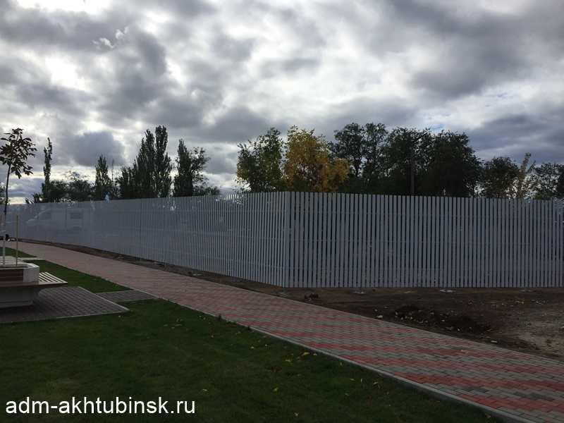 """Обновление ограждения стадиона """"ВОЛГА"""""""