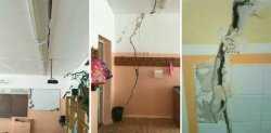 По стенам школы в Ахтубинске идут трещины