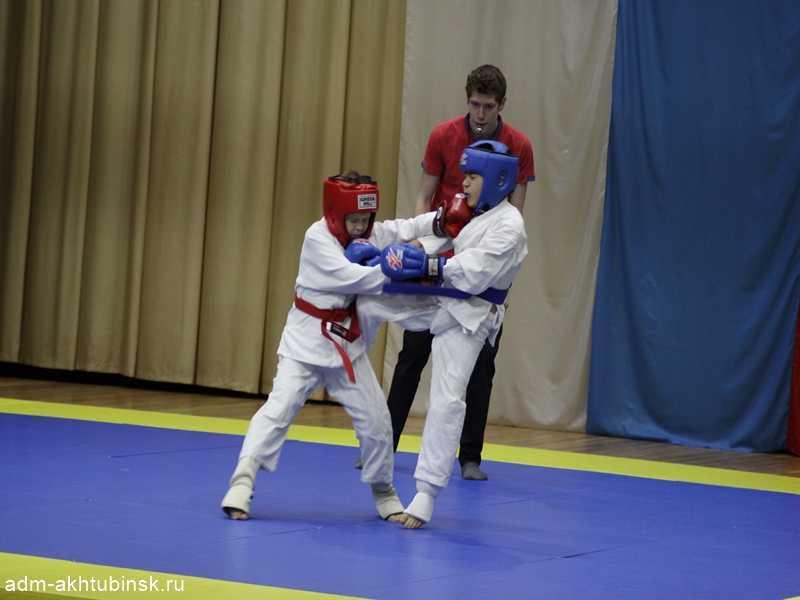В Ахтубинске прошел турнир по рукопашному бою среди мальчиков 2010-2014 годов рождения