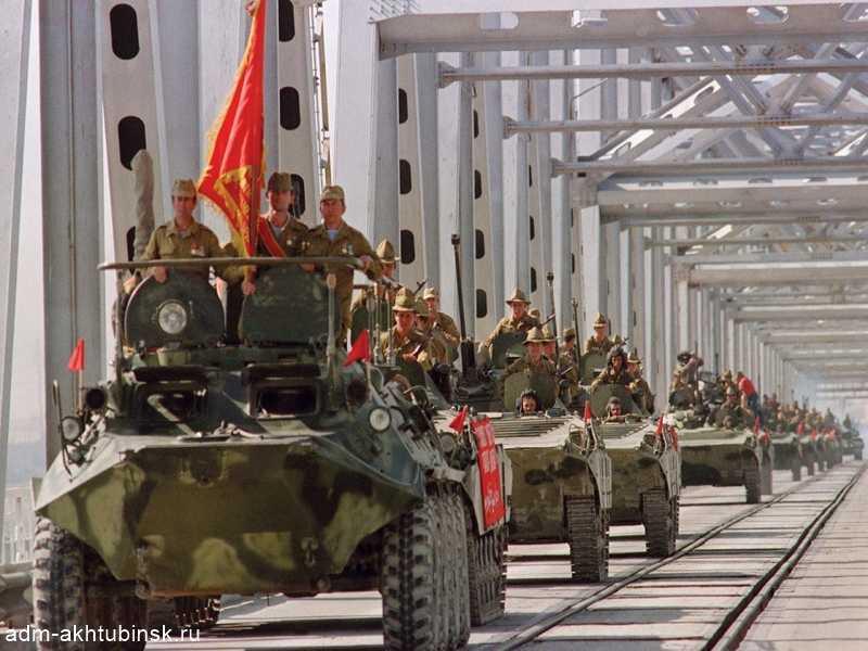 Поздравление Главы города Ахтубинска с 30-летием вывода советских войск из Афганистана