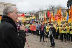 Шеин предложил Морозову коалиционное правительство, которое готов возглавить