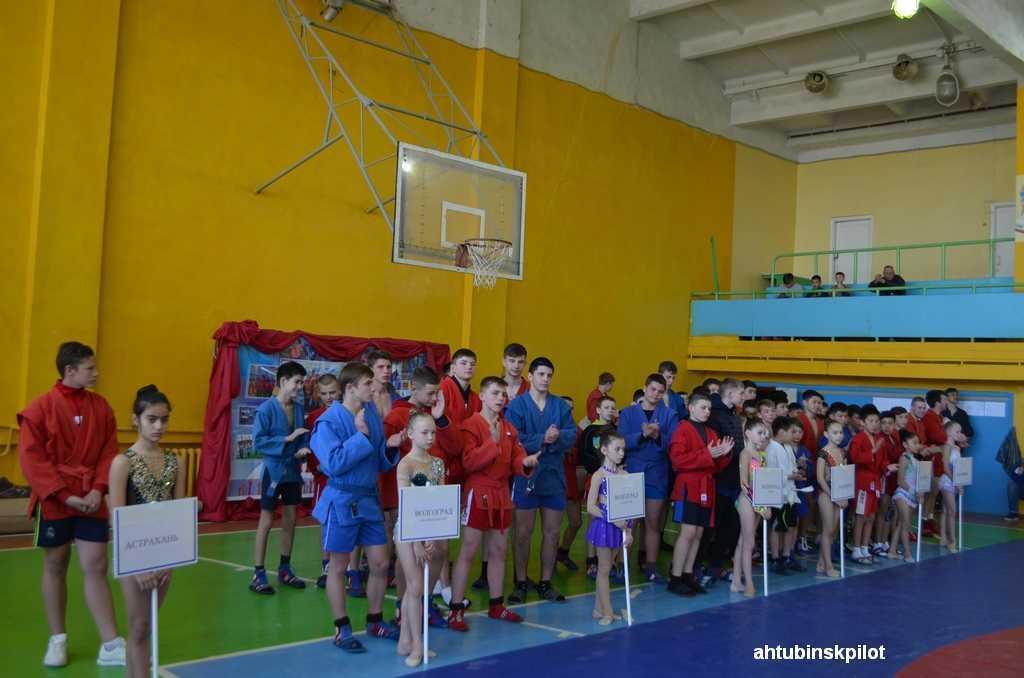 В Ахтубинске прошел международный турнир по самбо, посвященный Дню Победы