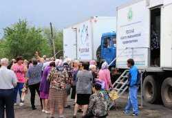 Поезд здоровья работает в Ахтубинском районе