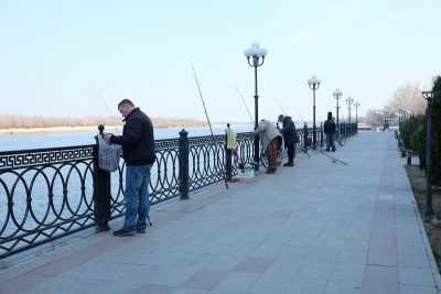 Вести с рыбалки: с глобальным потеплением в феврале иногда наступает весна