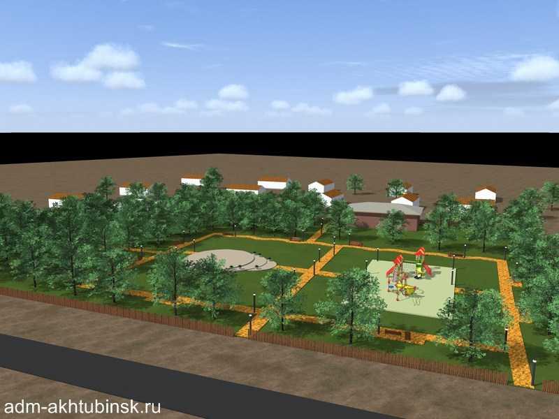 В 2020 году в Ахтубинске будет благоустроено 4 общественных и 1 дворовая территория