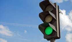 В Астрахани украли светофор