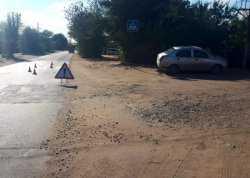 В Астраханской области девушка за рулем иномарки сбила ребенка