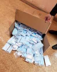 Незаконную продажу медицинских масок выявили в Астрахани
