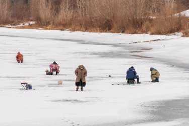 Братья утонули в Ахтубе на зимней рыбалке под Волгоградом