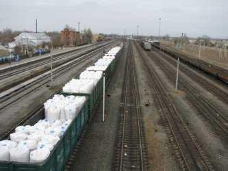 Сезонная погрузка соли началась в Астраханской области